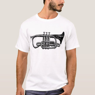De keizer Kornet van het Messing - Muzikaal T Shirt