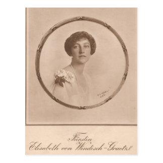 De Keizerin van de KLEINDOCHTER Elisabeth - Sissi Wenskaarten