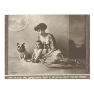 De Keizerin van de KLEINDOCHTER Elisabeth - Sissi  Wens Kaarten