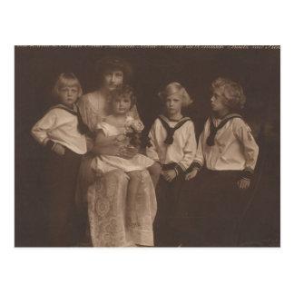 De Keizerin van de KLEINDOCHTER Elisabeth - Sissi Briefkaart