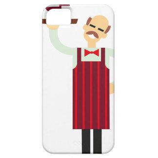 De Kelner van de wijn Barely There iPhone 5 Hoesje
