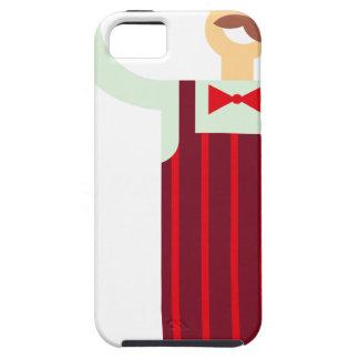 De Kelner van de wijn Tough iPhone 5 Hoesje