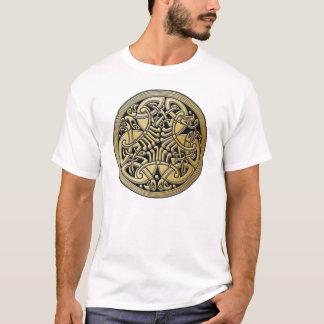 De Keltische Gouden Vogels & de Zwarte van de T Shirt