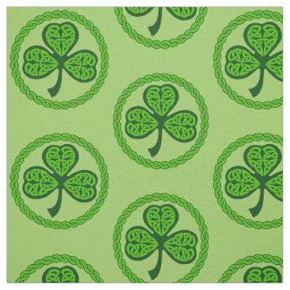 De Keltische Groene Stof van de Klaver van de