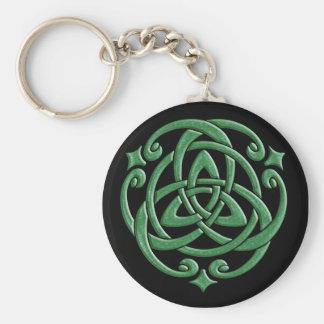 De Keltische Knoop van het Huwelijk Sleutelhanger
