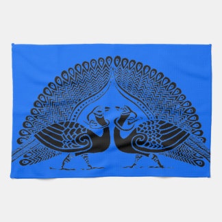 De Keltische Pauwen kleuren uw Eigen Handdoek van