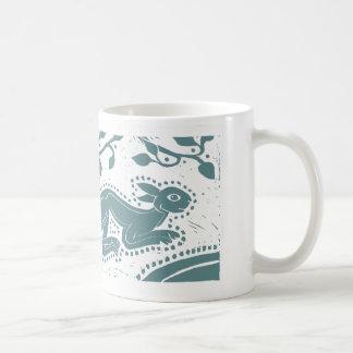 De Keltische Sea-Green Mok van Hazen