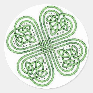 De Keltische Sticker van de Klaver