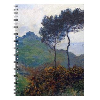 De Kerk van Claude Monet in Varengeville Notitieboek
