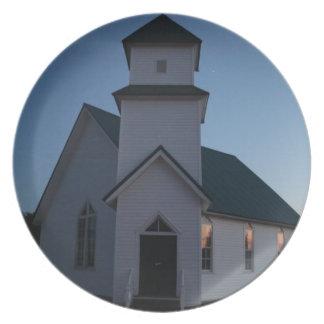 De Kerk van het land Bord
