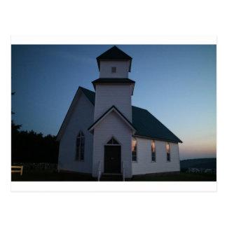 De Kerk van het land Briefkaart