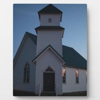 De Kerk van het land Fotoplaat