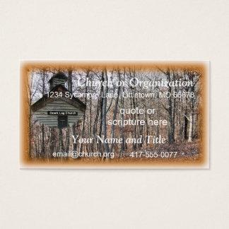 De Kerk van het logboek Visitekaartjes