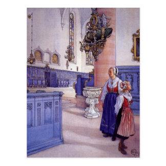 De Kerk van Kristine Briefkaart