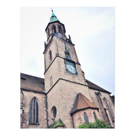 De kerk van Regensburg Fullcolor Folder