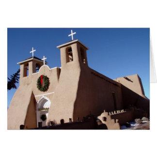 De Kerk van San Francisco DE Asis Mission bij Kaart