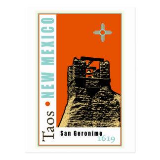 De Kerk van San Geronimo Briefkaart