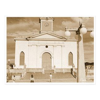 De Kerk van San Sebastian, Geschiedenis, Puerto Briefkaart