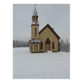 De Kerk van Vermont van Stannard Briefkaart