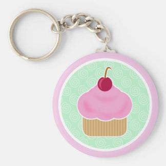 De Kers Keychain van Cupcake van Kawaii Sleutelhanger