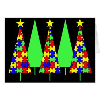 De Kerstbomen van het raadsel - de Voorlichting Kaart