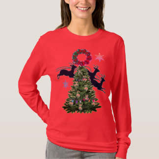 De kerstboom t shirt