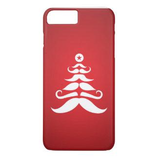 De Kerstboom van de Snor van de kerstman iPhone 7 Plus Hoesje