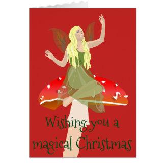 De Kerstkaart van de fee Kaart
