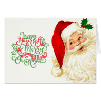 De Kerstkaart van de kerstman Briefkaarten 0