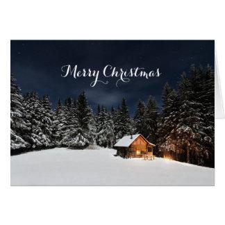 De Kerstkaart van de vreugde en van de Warmte Kaart
