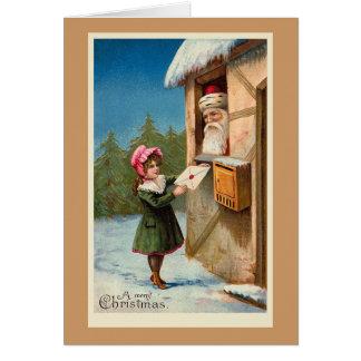 """De Kerstkaart van Kerstmis """"van de Post"""" Briefkaarten 0"""