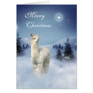 De Kerstkaarten van de Nacht van de Winter van de Briefkaarten 0