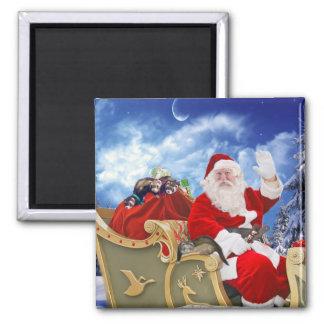 De Kerstman en Zijn Magneet van Kerstmis van