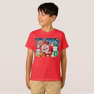 De Kerstman en zijn team is klaar voor Kerstmis T Shirt