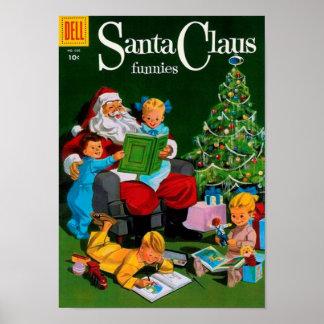 De Kerstman Funnies - Storytime Poster