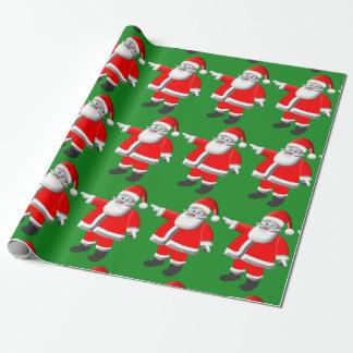 De Kerstman Giftwrap van de status Inpakpapier