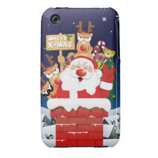 De kerstman komt aan uw Iphone Gelieve te voeren iPhone 3 Case