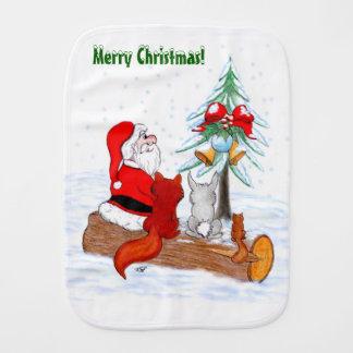 De Kerstman met de Vos en de Eekhoorn van het Monddoekje