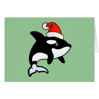 De Kerstman van de orka Kaart