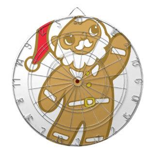 De Kerstman van de peperkoek Dartbord