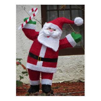 De Kerstman van het Riet van het snoep Briefkaart