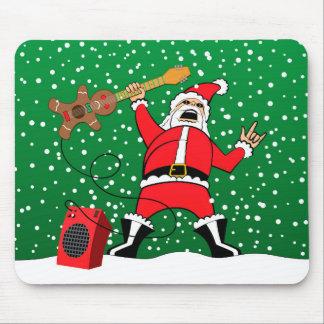 De Kerstman van het zware Metaal Muismat