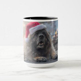 De Kerstman van Leonberger Mok