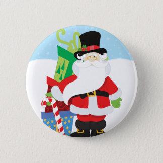 De Kerstman van Uptown Ronde Button 5,7 Cm