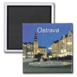 De keukenmagneet van Ostrava Magneet