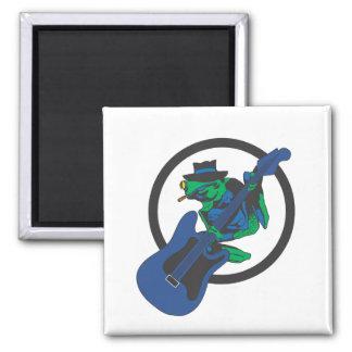 De Kikker van blauw Magneet