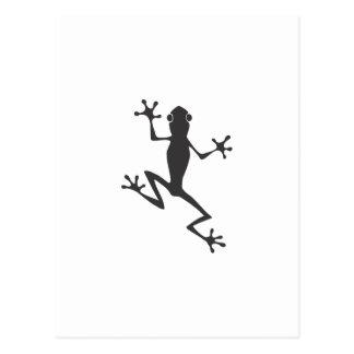 De Kikker van de boom Briefkaart