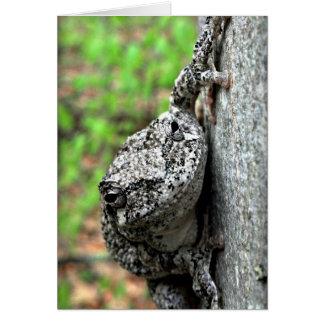 De Kikker van de boom Kaart