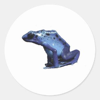 De Kikker van de Pijl van het Pijltje van het Ronde Sticker