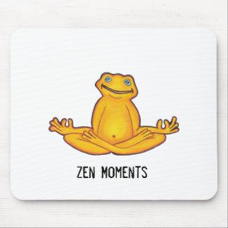 De Kikker van de yoga - Zen Ogenblikken Mousepad Muismat